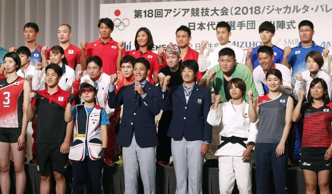 ASIAD 18,  doan the thao Nhat Ban,  Olympic Nhat Ban 2020 anh 2