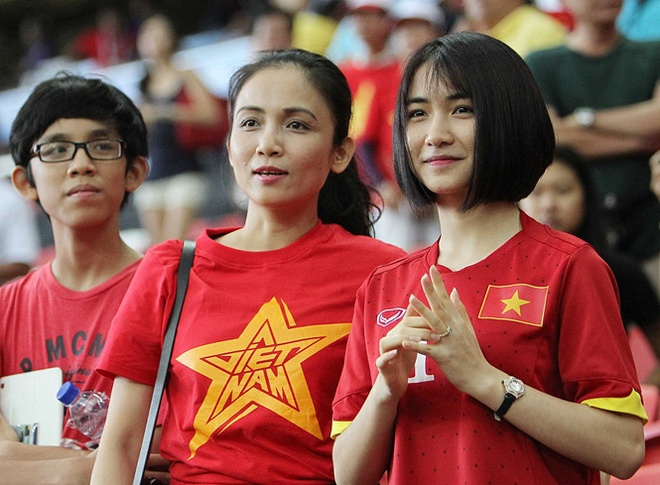 Hoa Minzy ung ho Olympic Viet Nam,  Cong Phuong anh 6