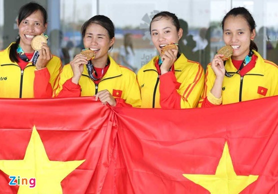 Chien thang cua DT rowing Viet Nam hoan toan ap dao truoc doi thu hinh anh