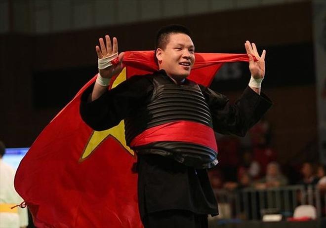 Vo si Nguyen Van Tri gianh HCV thu 3 cho doan the thao Viet Nam hinh anh