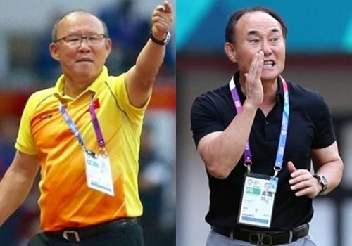 Park Hang-seo vs Kim Hak-bum: Cuoc doi dau chia doi du luan Han Quoc hinh anh