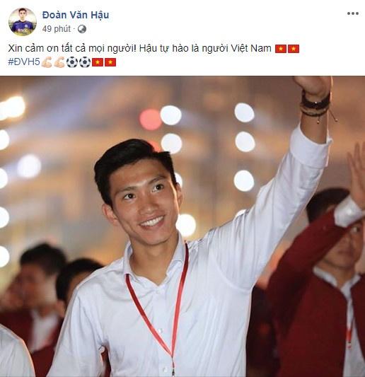 Van Toan, Duc Chinh cuoi rang ro trong le mung cong o My Dinh hinh anh 2