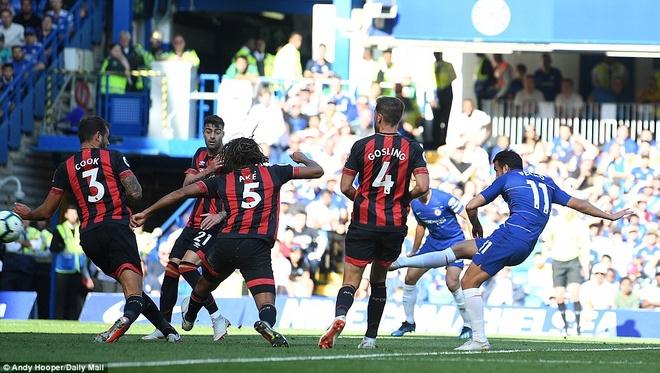 Vuot ai Bournemouth, Hazard chung minh minh la so mot o Chelsea hinh anh 5