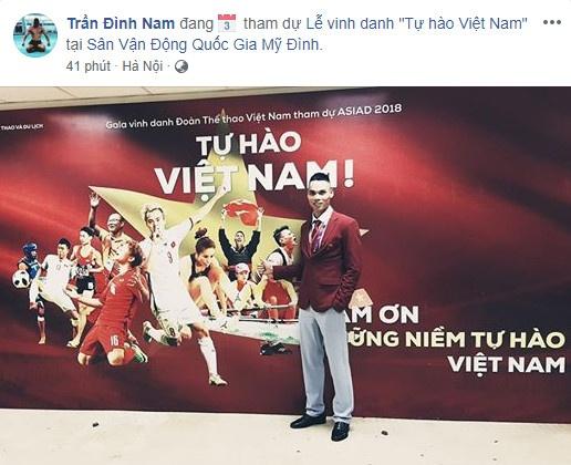 Van Toan, Duc Chinh cuoi rang ro trong le mung cong o My Dinh hinh anh 7