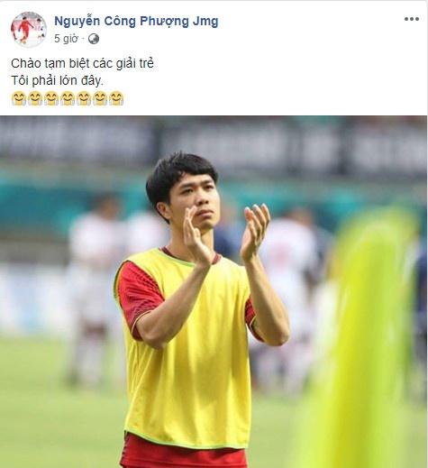 Cong Phuong noi loi chia tay xuc dong sau tran thua Olympic UAE hinh anh 1