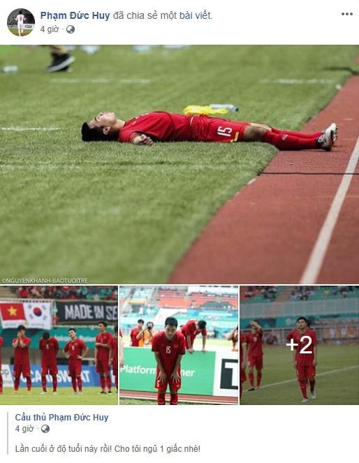 Cong Phuong noi loi chia tay xuc dong sau tran thua Olympic UAE hinh anh 4