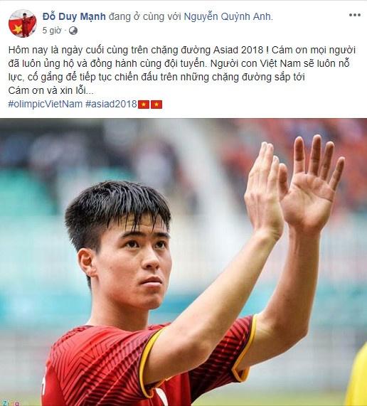 Cong Phuong noi loi chia tay xuc dong sau tran thua Olympic UAE hinh anh 5