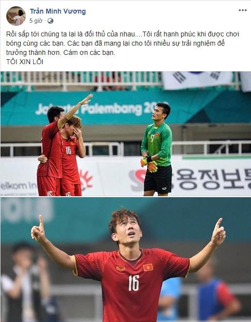 Cong Phuong noi loi chia tay xuc dong sau tran thua Olympic UAE hinh anh 6