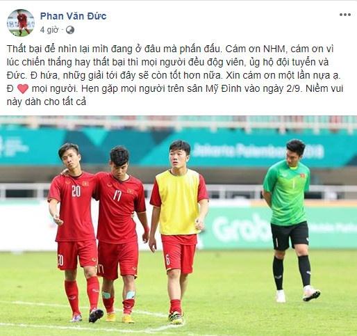 Cong Phuong noi loi chia tay xuc dong sau tran thua Olympic UAE hinh anh 8
