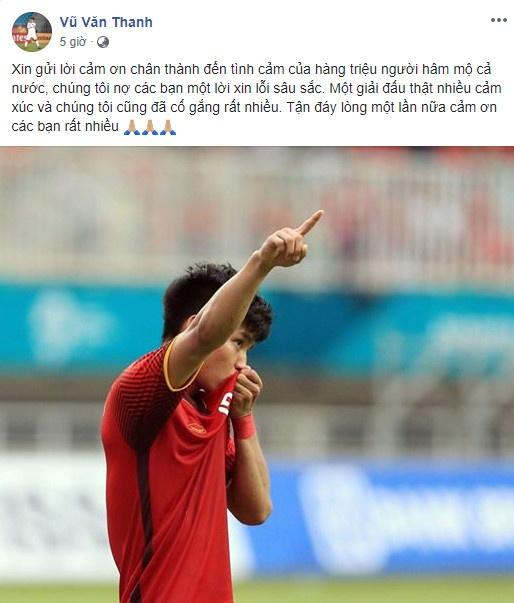 Cong Phuong noi loi chia tay xuc dong sau tran thua Olympic UAE hinh anh 9