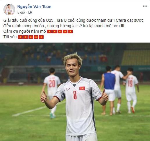 Cong Phuong noi loi chia tay xuc dong sau tran thua Olympic UAE hinh anh 10