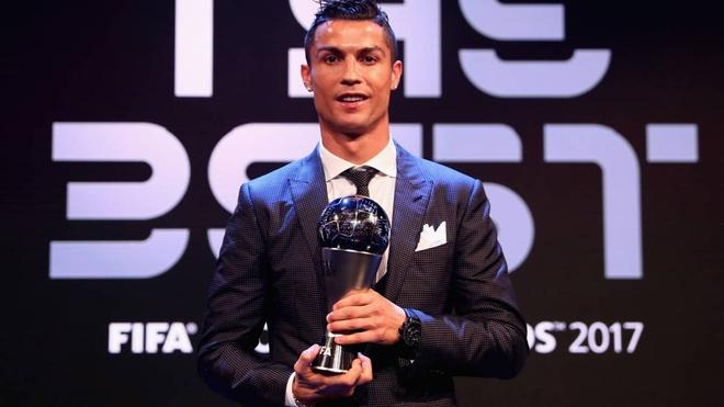Ronaldo lot vao top 3 ung vien giai 'The Best' cua FIFA hinh anh