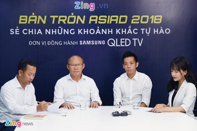 HLV Park Hang-seo,  ASIAD 18,  doi tuyen Olympic Viet Nam,  Ban tron ASIAD anh 1