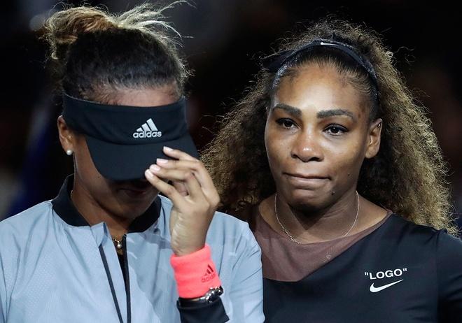 Trong tai no Serena Williams hay chinh co no Osaka loi xin loi? hinh anh