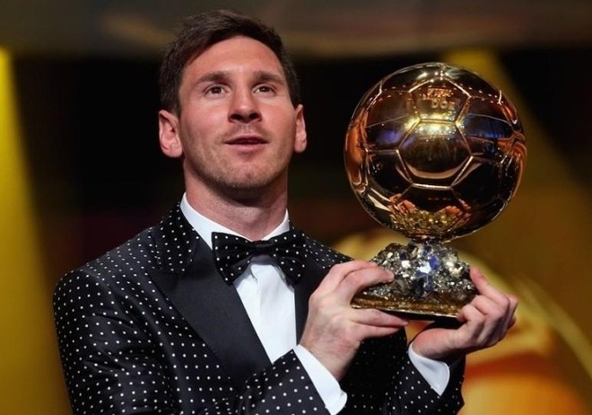 Khong co Qua bong vang, Messi van tham du le trao giai The Best hinh anh