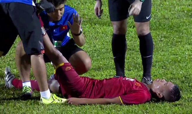 Highlights U16 Viet Nam 0-1 U16 An Do: Ban thua tren cham 11 m hinh anh