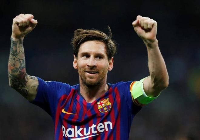 Messi ghi trung binh mot ban moi tran tai vong bang Champions League hinh anh