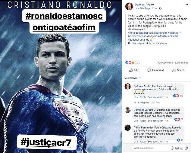 Gia dinh Ronaldo muon doi cong ly sau cao buoc hiep dam hinh anh 1