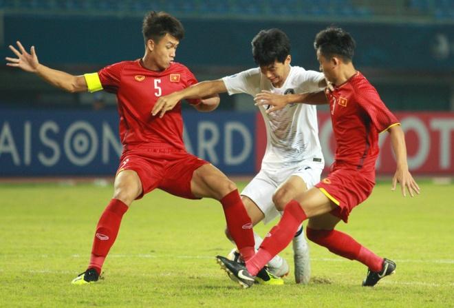U19 Viet Nam chia tay giai chau A bang tran thua Han Quoc hinh anh