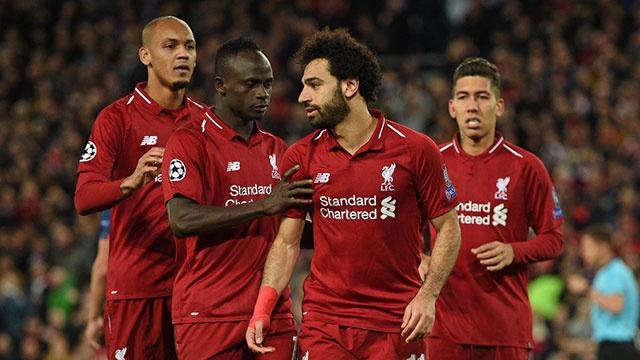 Liverpool vs Red Star Belgrade (4-0): Salah lap cu dup ban thang hinh anh