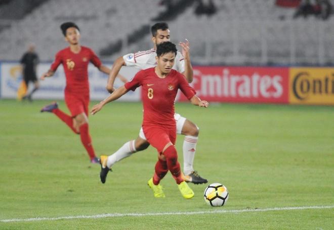 Danh bai UAE o giai chau A, U19 Indonesia vao tu ket hinh anh