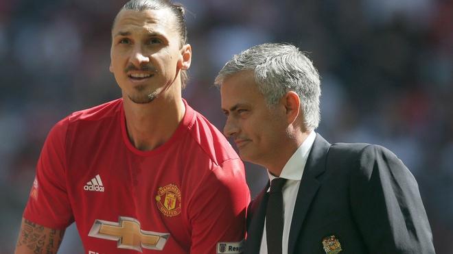 HLV Mourinho len tieng ve viec dua Ibra tro lai MU hinh anh