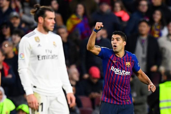 Luis Suarez lap hat-trick giup Barca thang Real 5-1 hinh anh 1