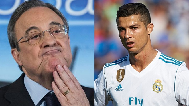 Ronaldo: 'Toi roi Real Madrid vi Chu tich Florentino Perez' hinh anh