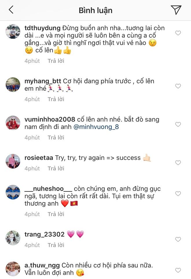 Co dong vien tiec cho Minh Vuong vi bi loai khoi DTQG hinh anh 2