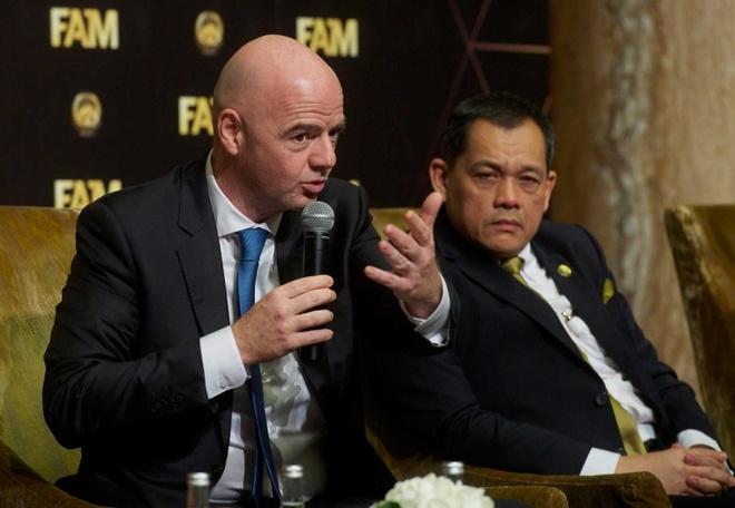 Chu tich FIFA danh gia Malaysia se thanh cong trong tuong lai hinh anh 1