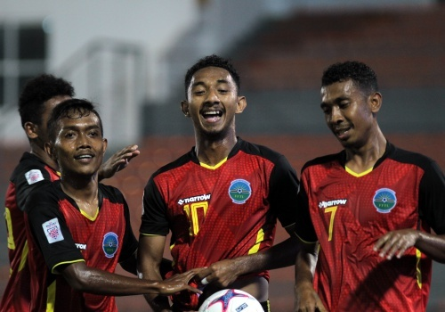 Ngoi sao sang nhat DT Timor Leste du AFF Cup moi 20 tuoi hinh anh