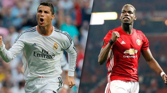 Pogba: 'Ronaldo ghi ban de nhu uong nuoc vay' hinh anh