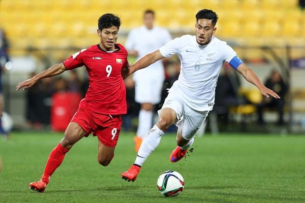 Aung Thu,  Ronaldo Myanmar,  AFF Cup,  doi tuyen Myanmar anh 2