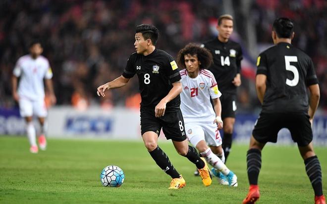 Thitipan Puangchan,  Cezero Osaka,  J-League,  doi tuyen Thai Lan,  AFF Cup anh 1