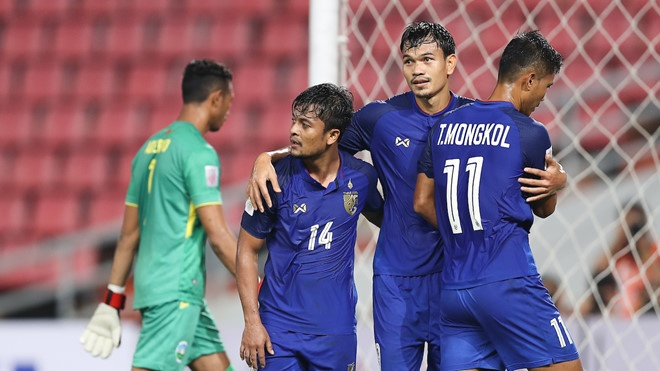 DT Thai Lan 0-0 Indonesia: Ung vien vo dich khang dinh suc manh hinh anh