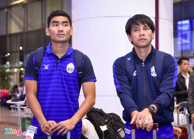 Doi tuyen Viet Nam,  Viet Nam vs Campuchia,  AFF Cup 2018,  Messi Campuchia anh 1