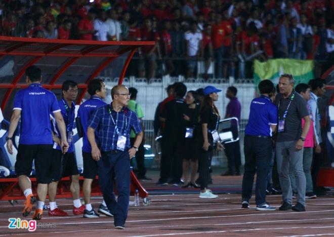 CDV Han Quoc ung ho ong Park Hang-seo tu choi bat tay HLV Myanmar hinh anh 1