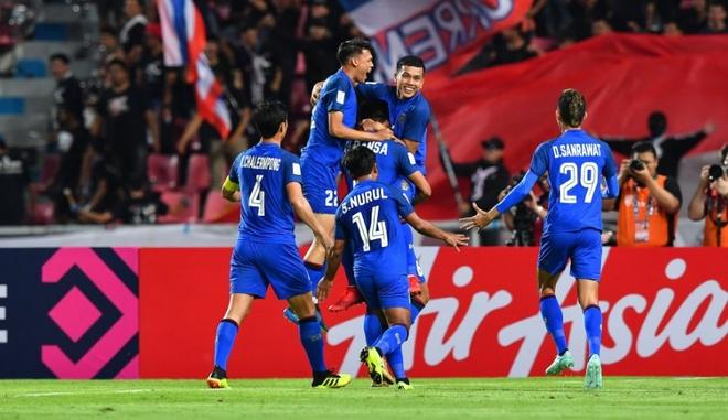 Nhan chim Singapore, Thai Lan vao ban ket AFF Cup voi ngoi nhat bang B hinh anh 1