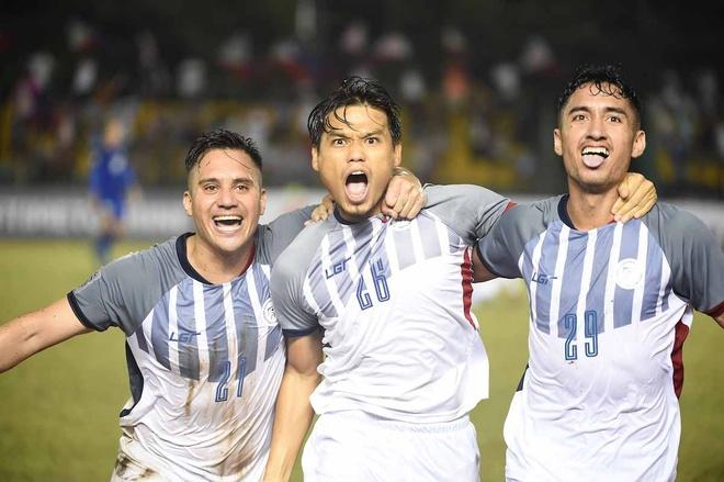 doi tuyen Viet Nam,  Philippines vao ban ket,  AFF Cup anh 1