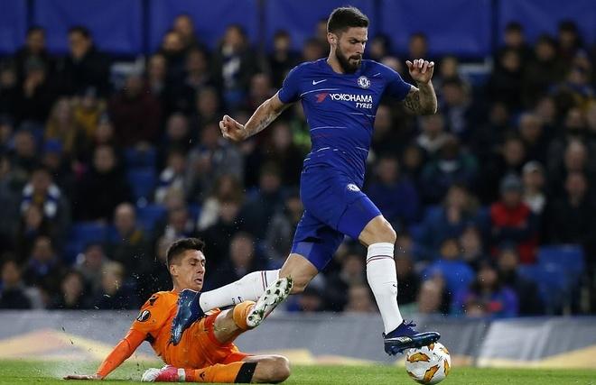 Giroud, Morata ghi ban giup Chelsea dai thang PAOK hinh anh