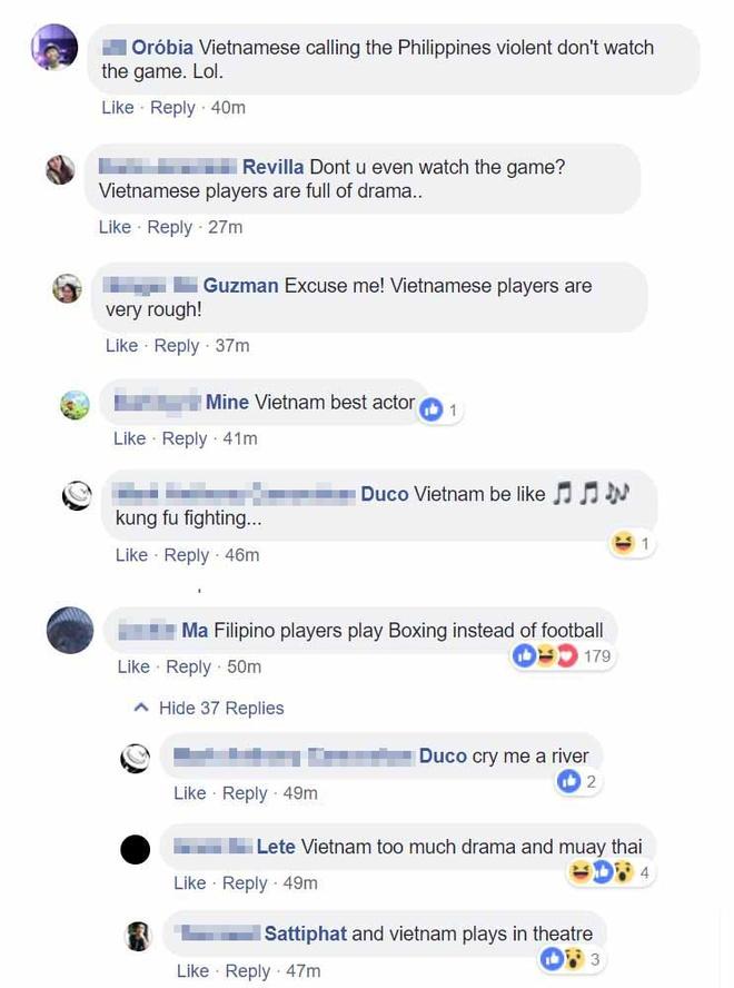 CDV Philippines to cau thu Viet Nam 'dong kich' va 'choi tho bao' hinh anh 1