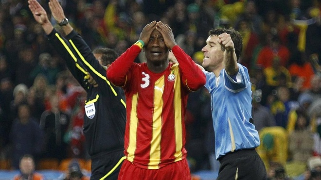 Doi tuyen Ghana cua HLV Rajevac that bai truoc Uruguay hinh anh