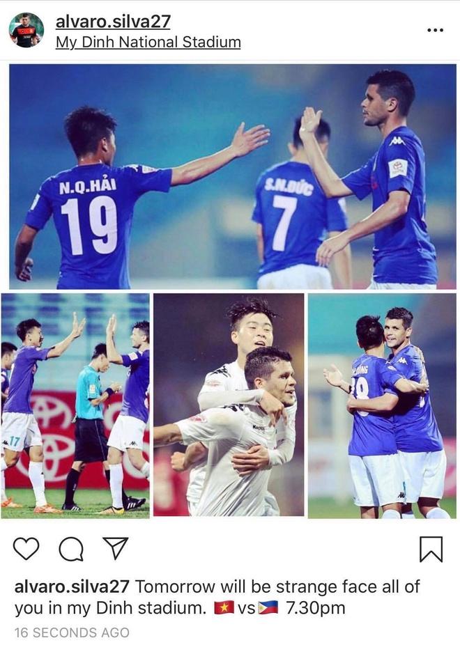 Alvaro Silva gui loi khen dac biet toi Quang Hai sau khi thua Viet Nam hinh anh 2