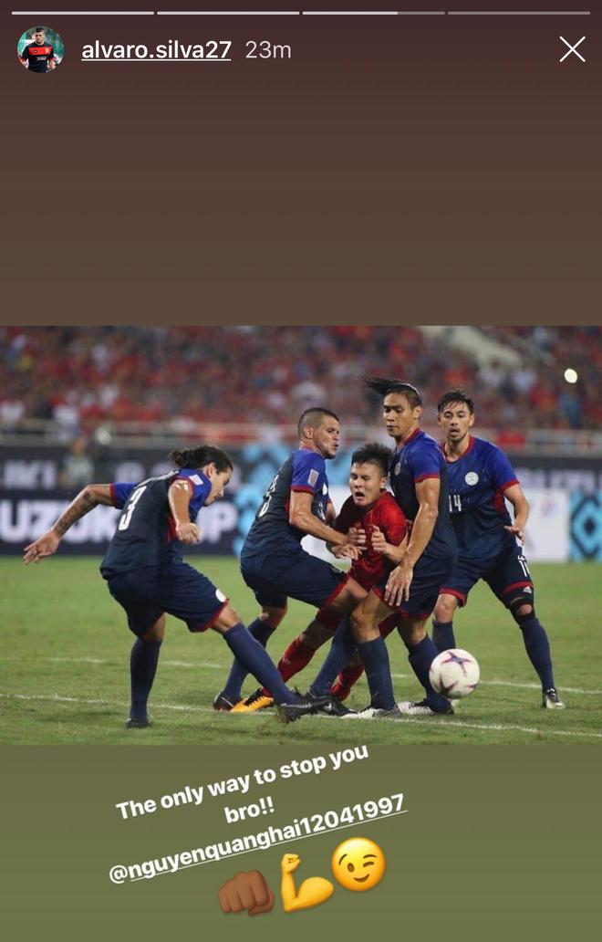 Alvaro Silva gui loi khen dac biet toi Quang Hai sau khi thua Viet Nam hinh anh 1