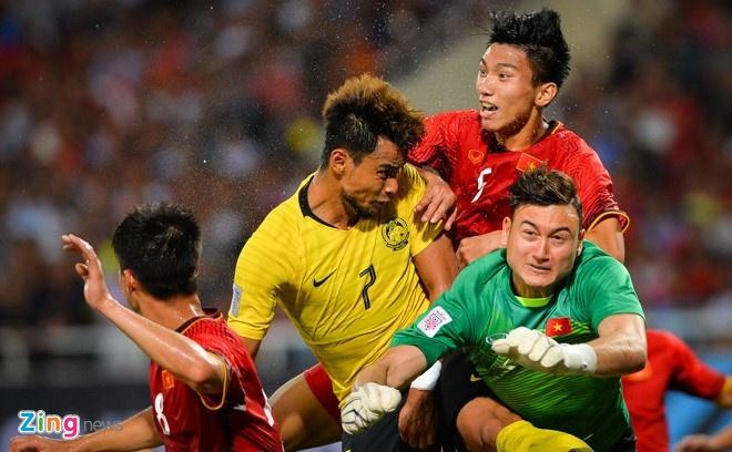 chung ket AFF Cup,  SEA Games 2009,  doi tuyen Viet Nam,  Malaysia anh 1