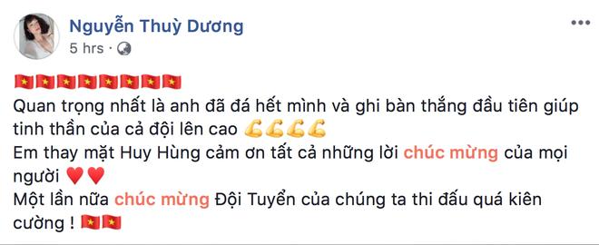 ban gai Huy Hung,  Thuy Duong,  doi tuyen Viet Nam,  Malaysia,  AFF Cup 2018 anh 1