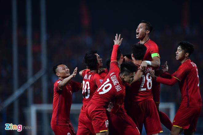 Tuyen Viet Nam vo dich AFF Cup 2018 voi thanh tich bat bai hinh anh 1