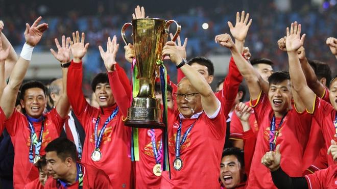 Tuyen Viet Nam vo dich AFF Cup 2018 voi thanh tich bat bai hinh anh