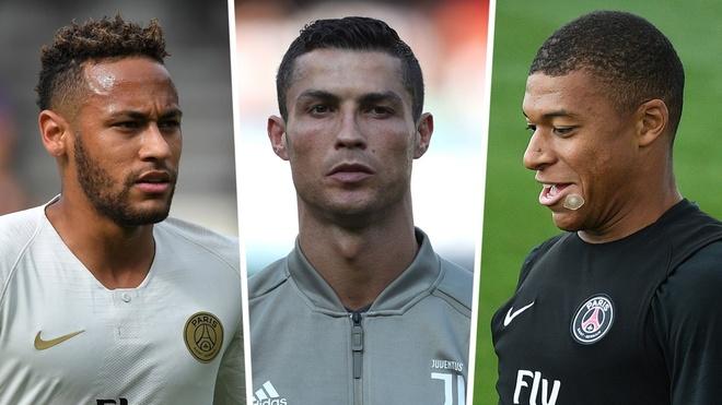 Buffon: 'Mbappe va Neymar co cung he gen voi Ronaldo' hinh anh