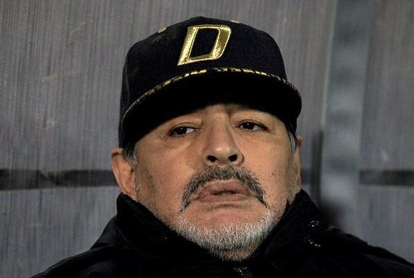 Huyen thoai Maradona nhap vien khan cap vi xuat huyet da day hinh anh